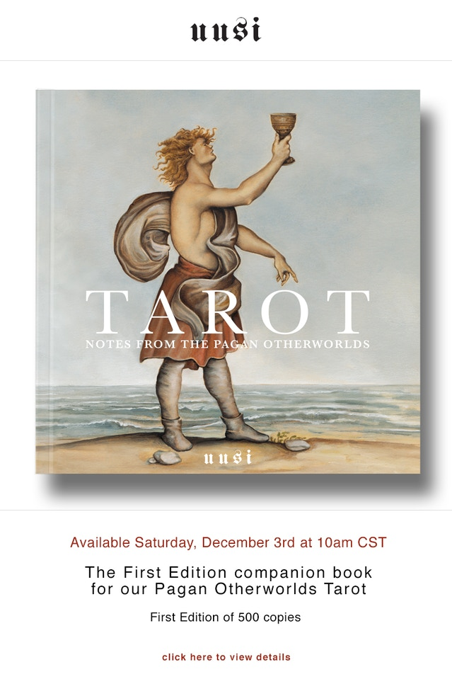 pagan otherworlds tarot guide book