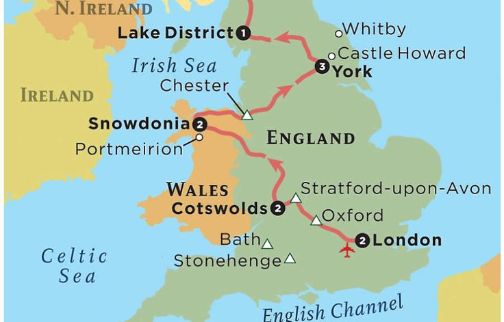 guided tours to ireland scotland and wales