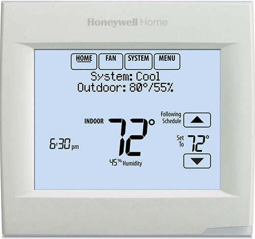 honeywell visionpro series with redlink installation guide