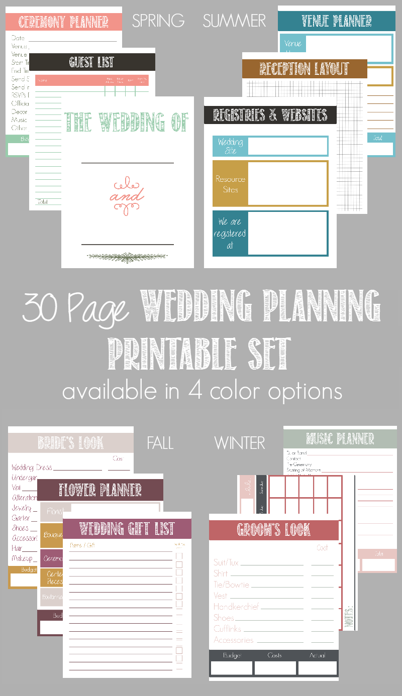 wedding planner guides free online