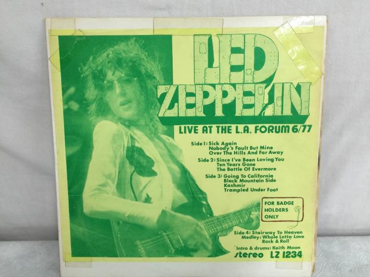 led zeppelin vinyl bootleg guide