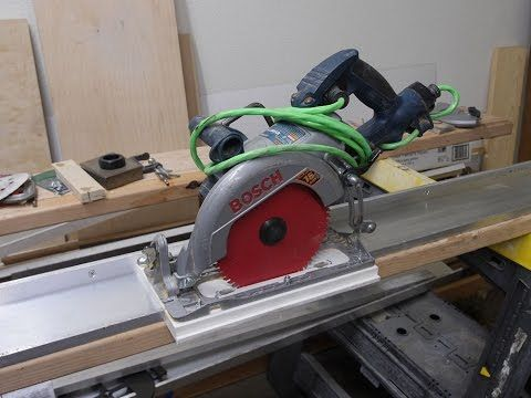 table saw vs circular saw with guide