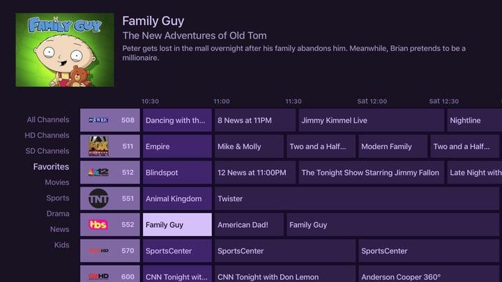 phoenix local channels tv guide