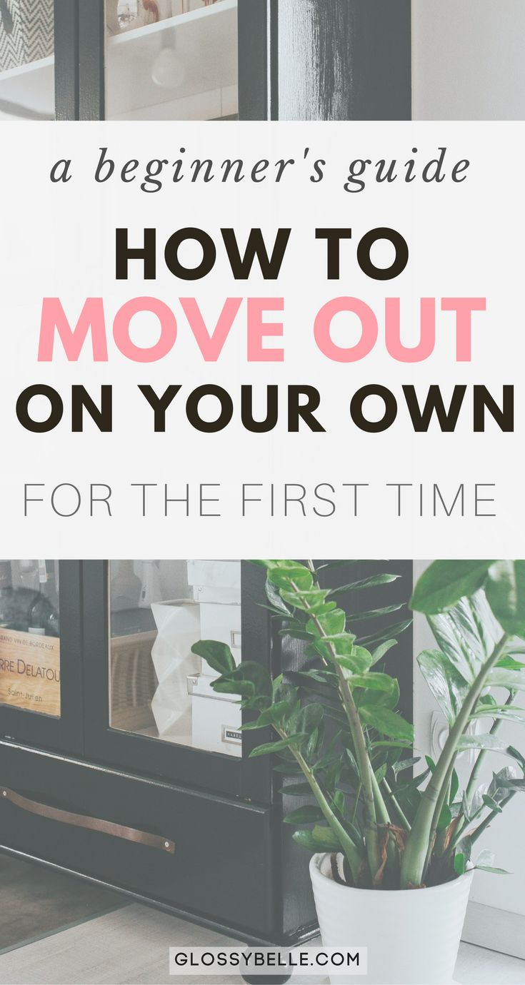 guide to moving out of parents house