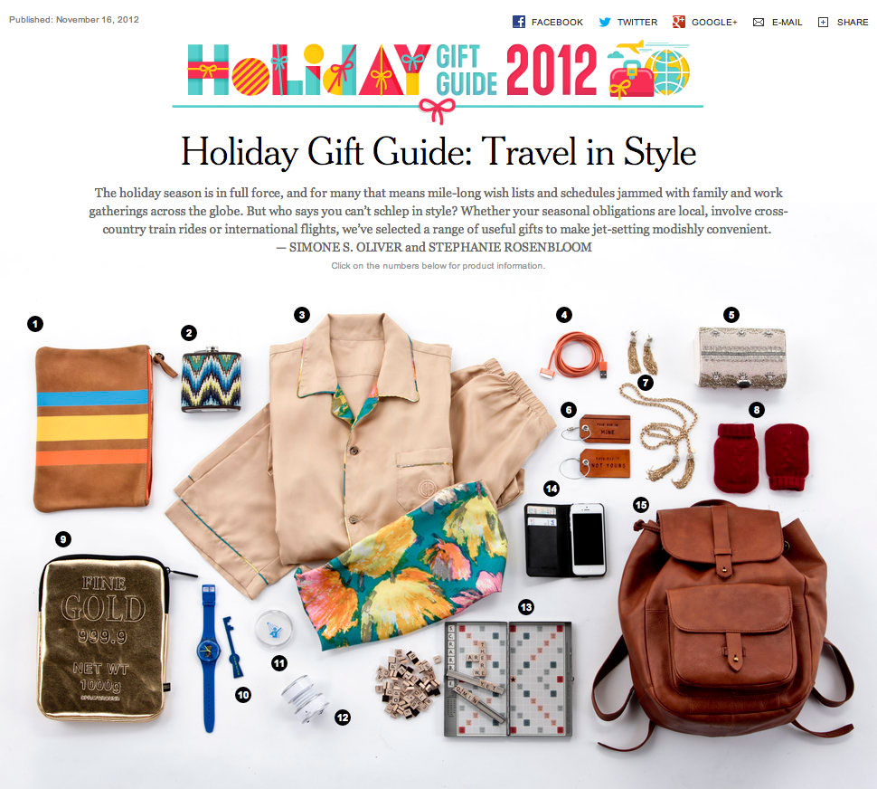 new york times holiday gift guide 2017