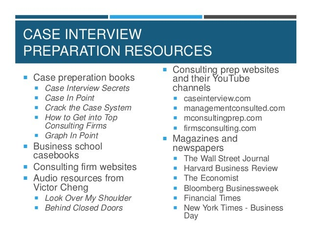 vault guide to the case interview pdf