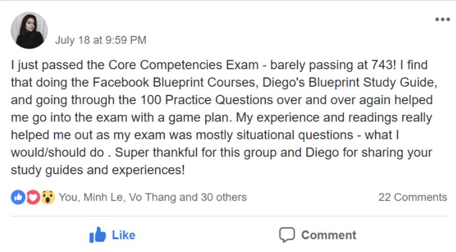 facebook blueprint certification study guide