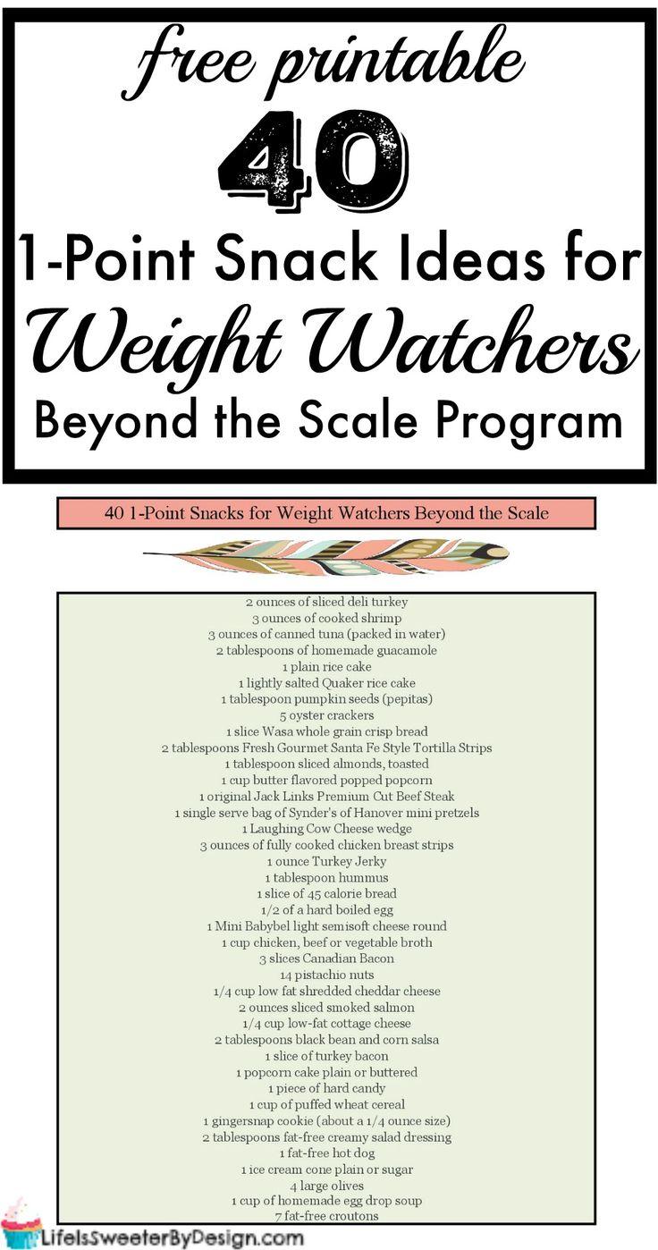 guide des points des aliments de weight watchers