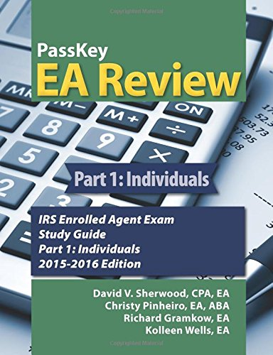irs enrolled agent study guide