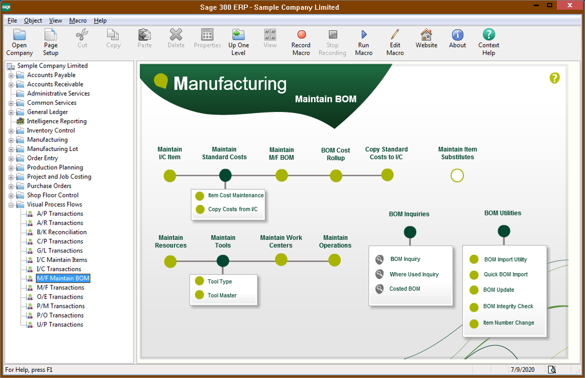 sage 300 erp project and job costing user guide