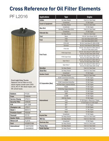 k and n oil filter guide
