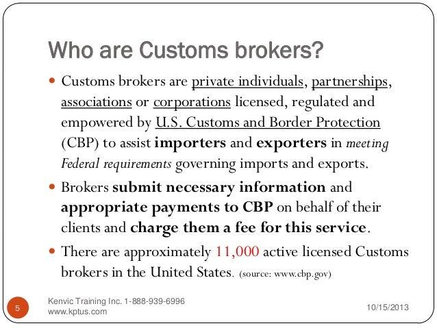 customs broker license study guide