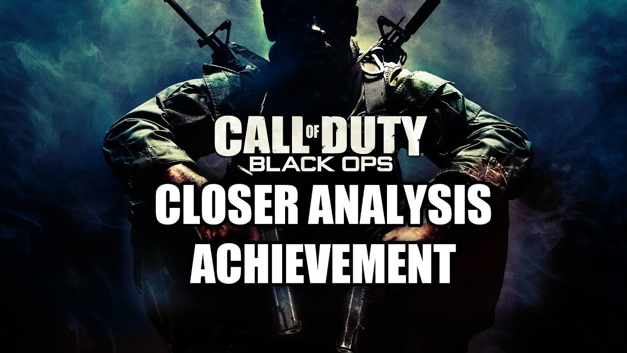 call of duty black ops achievement guide