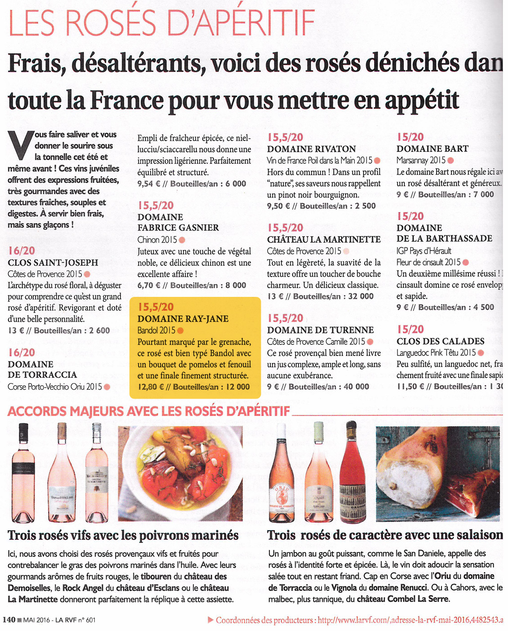 le guide des meilleurs vins de france 2016
