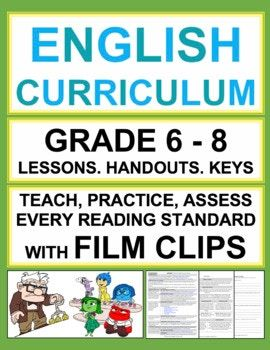 free literature study guides for middle school
