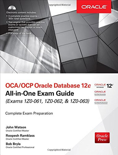 ocp upgrade to oracle database 12c exam guide