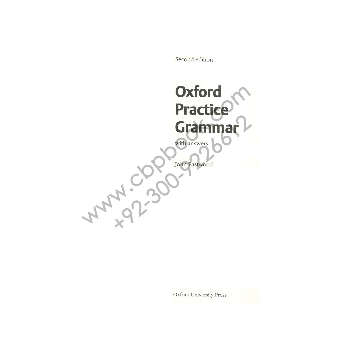 oxford guide to english grammar by john eastwood