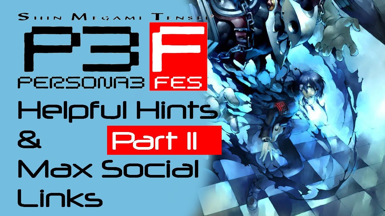 persona 3 social link guide