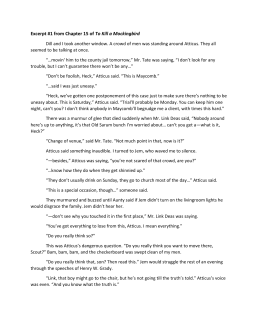 to kill a mockingbird study guide answers chapters 1 11